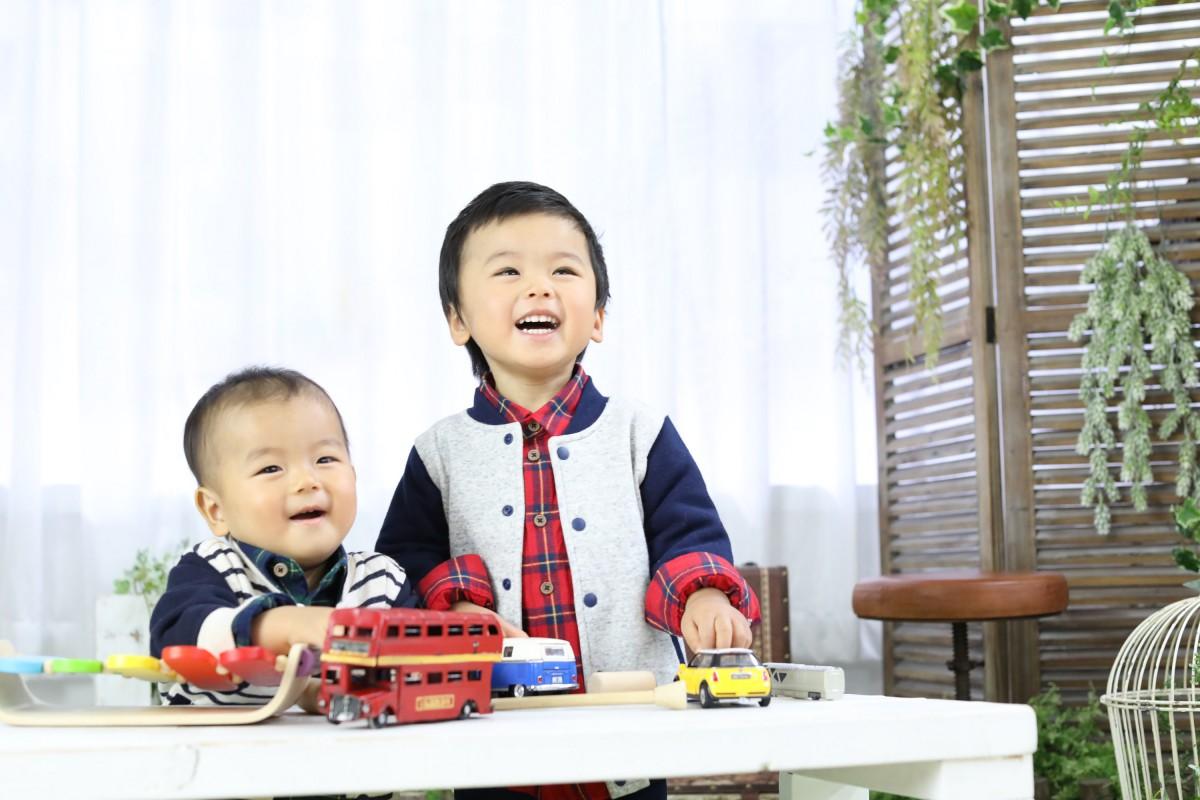 ☆笑顔がいっぱい兄弟写真^^☆