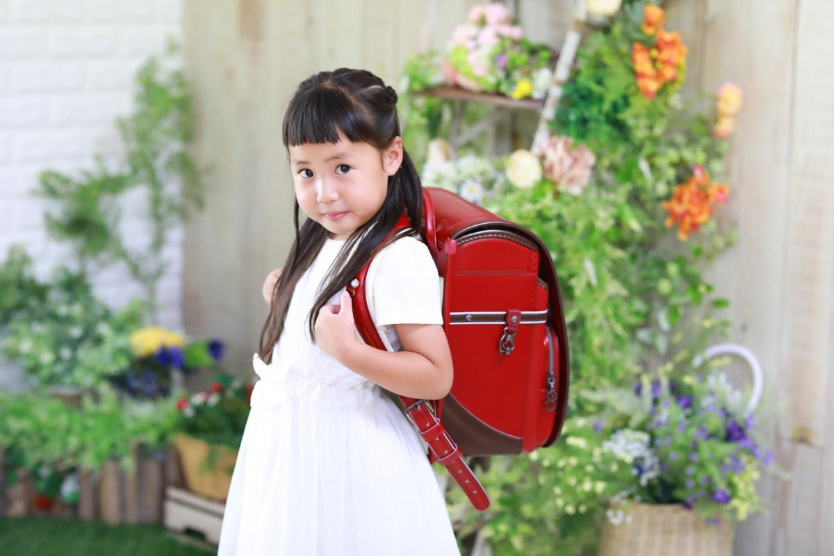 入園入学準備の仕上げは記念撮影です!