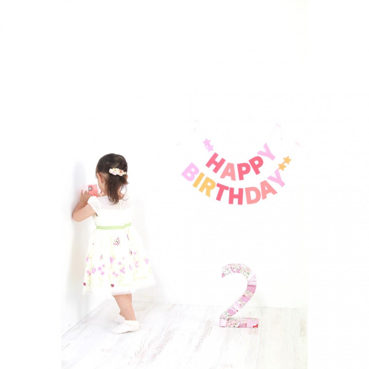 お誕生日撮影