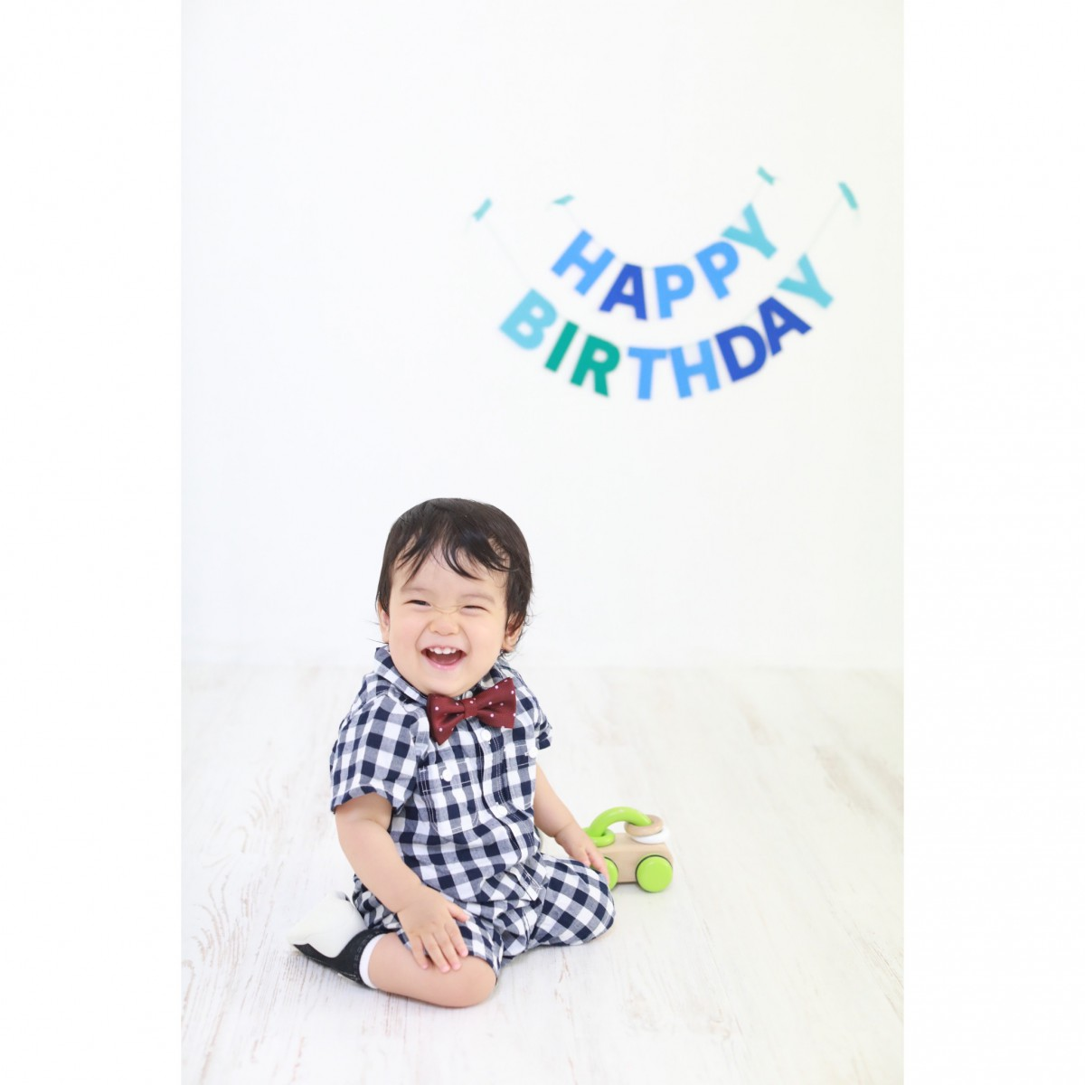 1才誕生日撮影
