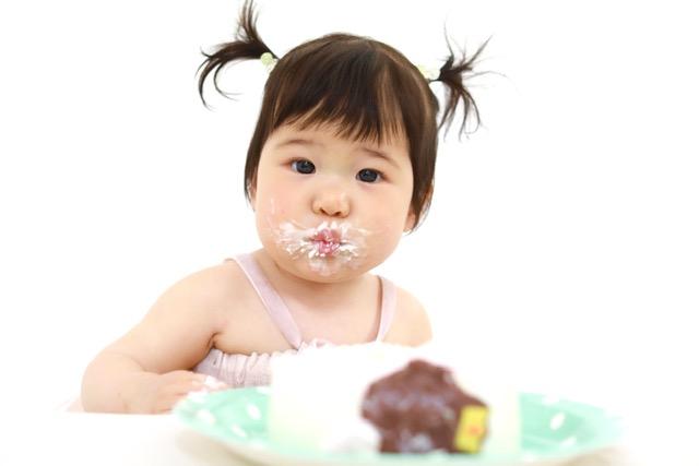 1歳お誕生日・スマッシュケーキ